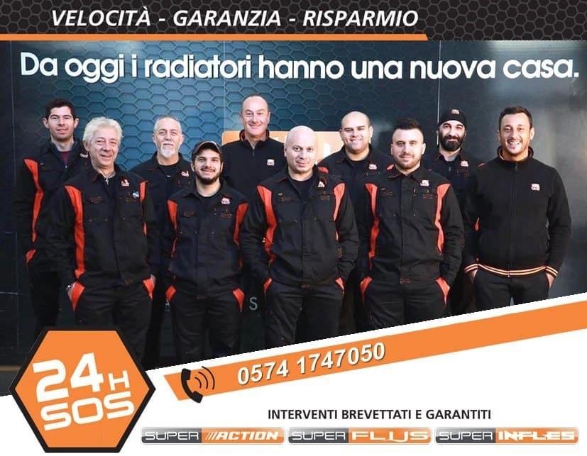 Gruppo di lavoro che compone la CDR Italia