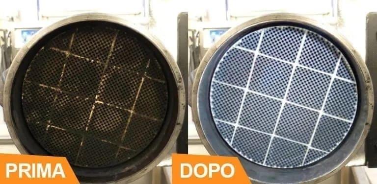 rigenerazione filtro antiparticolato camion e autocarri