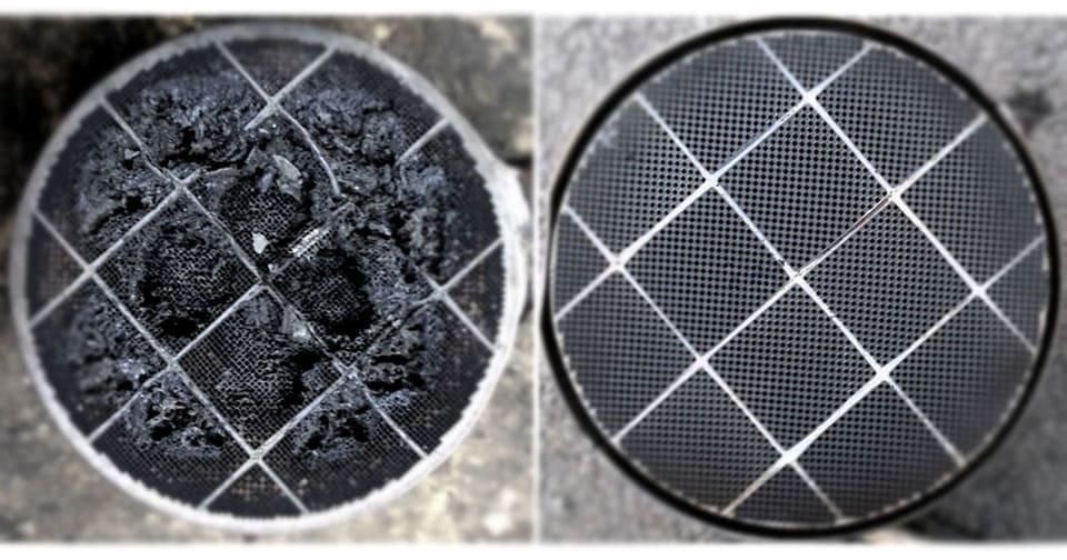 Esempio di pulizia filtro antiparticolato costo basso