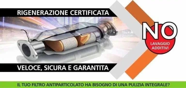 Rigenerazione filtro antiparticolato Fiat con CDR
